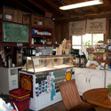 General Store & Cafe Opens at 8:00 AM